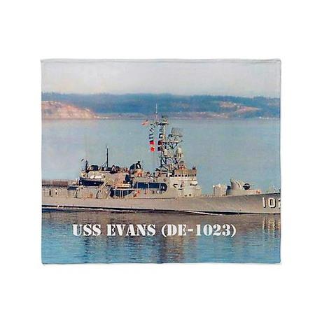 evans mini poster Throw Blanket