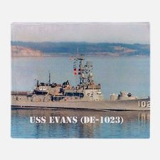 evans mini poster Throw Blanket