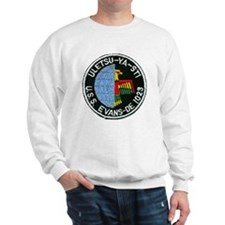 evans patch transparent Sweatshirt