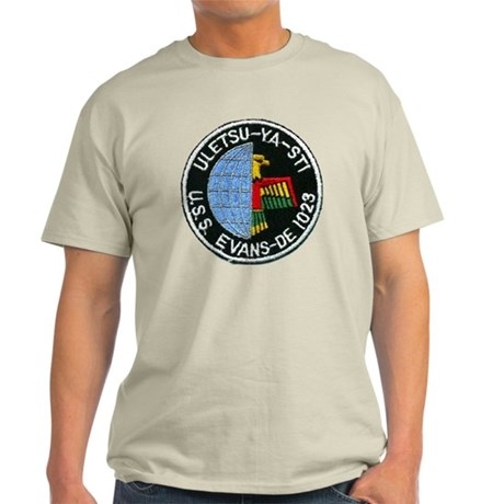 evans patch transparent Light T-Shirt