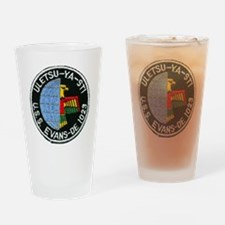 evans patch transparent Drinking Glass