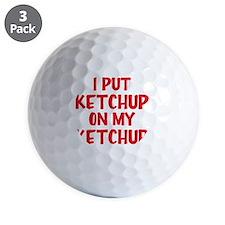 ketchup Golf Ball