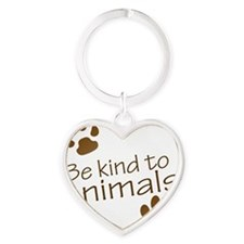 be kind Heart Keychain