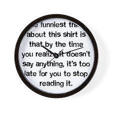 funniest Wall Clock