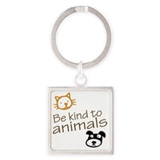 be kind2 Square Keychain