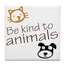 be kind2 Tile Coaster