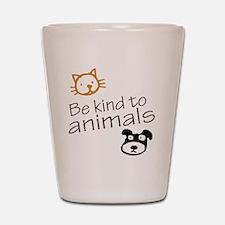 be kind2 Shot Glass