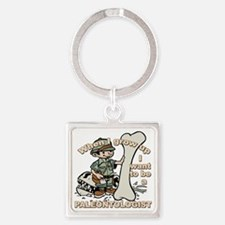 2-paleantologist_CP Square Keychain