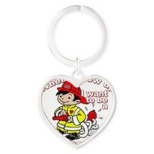 2-firefighter_CP Heart Keychain