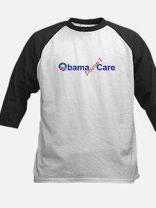 Obama Doesn't Care Kids Baseball Jersey