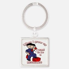 mechanic_CP Square Keychain