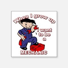 "mechanic_CP Square Sticker 3"" x 3"""