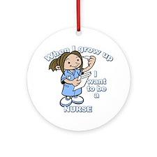 nurse_CP Round Ornament