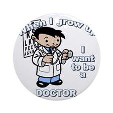 doctor_CP Round Ornament