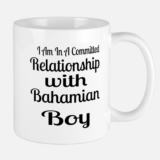 I Am In Relationship With Bahami Mug