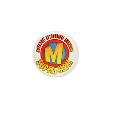 SuperMom2010 Mini Button