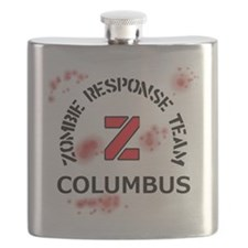 Zombie Response Team Columbus Flask