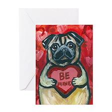 pugbeminebig Greeting Card