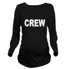 CREW Long Sleeve Maternity T-Shirt