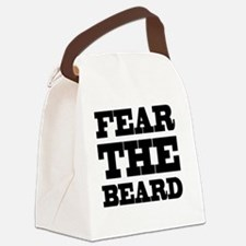 Fear The Beard Canvas Lunch Bag