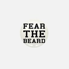 Fear The Beard Mini Button