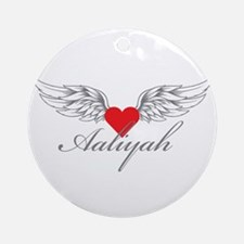 Angel Wings Aaliyah Ornament (Round)