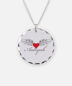 Angel Wings Aaliyah Necklace