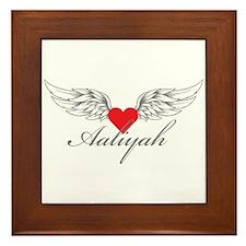Angel Wings Aaliyah Framed Tile