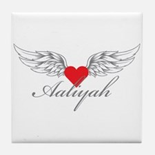Angel Wings Aaliyah Tile Coaster