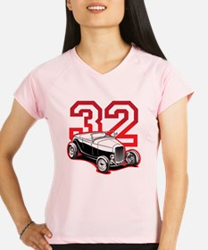 red 32 ford Performance Dry T-Shirt