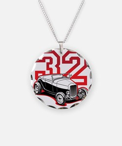 red 32 ford Necklace