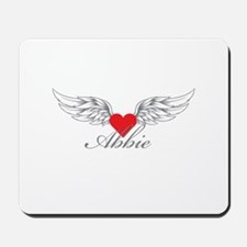 Angel Wings Abbie Mousepad