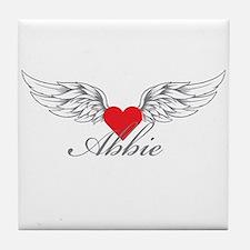 Angel Wings Abbie Tile Coaster
