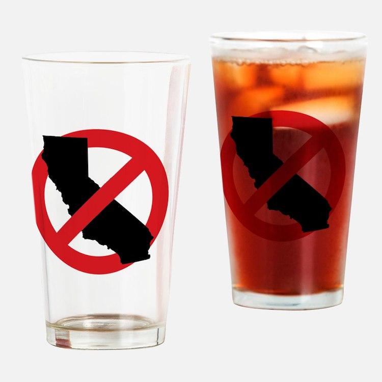 ANTI-CALI Drinking Glass