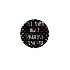 Special Spot in Heart Mini Button (10 pack)