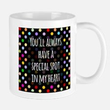 Special Spot in Heart Mugs