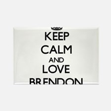 Keep Calm and Love Brendon Magnets