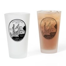 state-quarter-california Drinking Glass