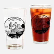 state-quarter-california Drinking Glass