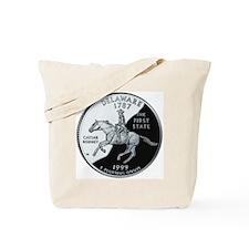 state-quarter-delaware Tote Bag