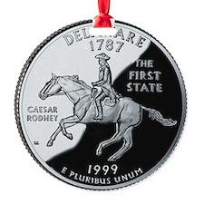 state-quarter-delaware Ornament