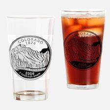 state-quarter-colorado Drinking Glass