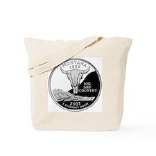 coin-quarter-montana Tote Bag