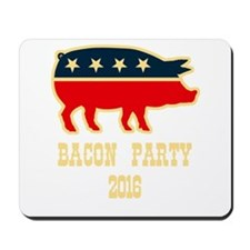 Bacon Party 2016 Mousepad