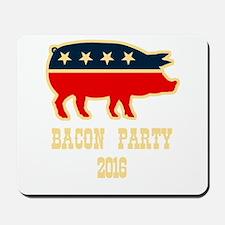 Bacon Party 2016 Mousepad