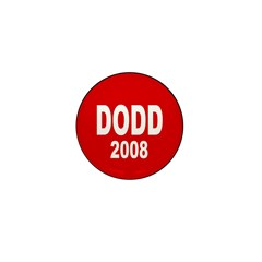 Dodd 2008 Red Mini Button