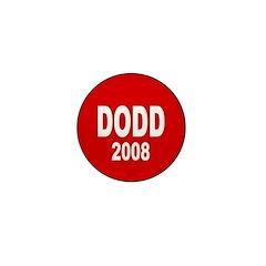 Dodd 2008 Red Mini Button