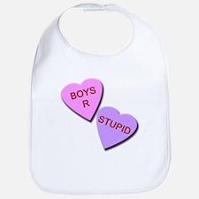 Boys R Stupid Bib