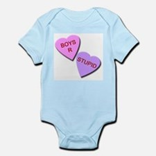 Boys R Stupid Infant Bodysuit