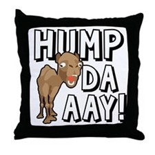 Humpdaaay Camel Wednesday-01 Throw Pillow